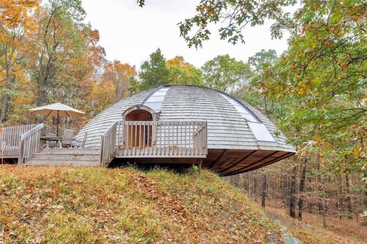 Maison en forme de dôme