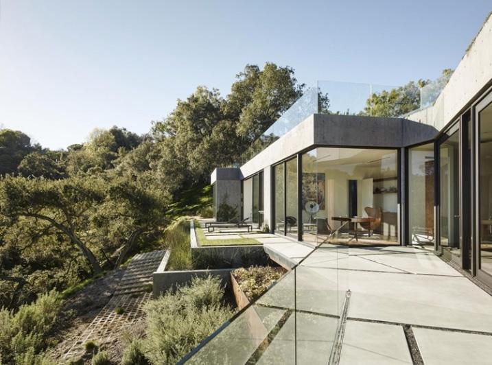 maison sur colline