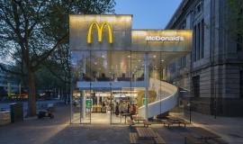 McDonalds en verre
