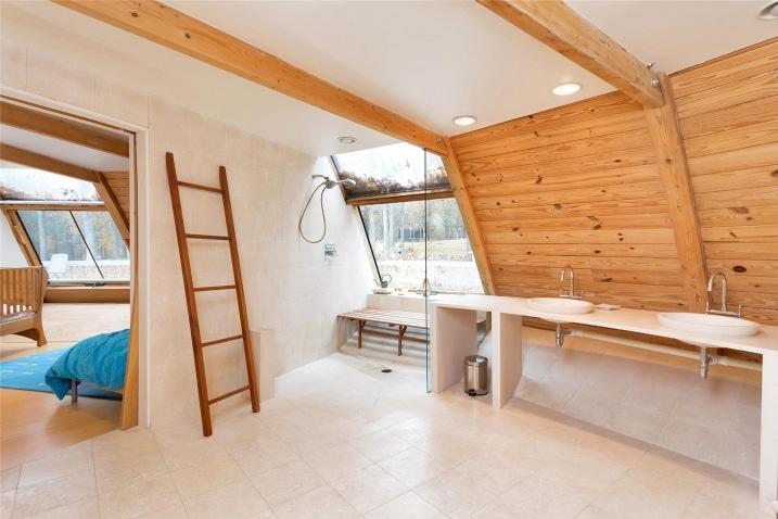 Salle de bain arrondie