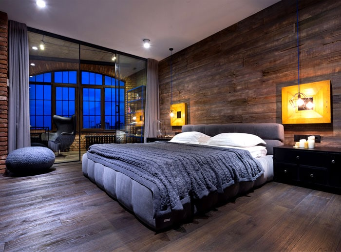 am nager une chambre dans un loft. Black Bedroom Furniture Sets. Home Design Ideas