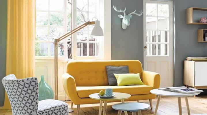 id es pour d corer votre int rieur avec du jaune. Black Bedroom Furniture Sets. Home Design Ideas