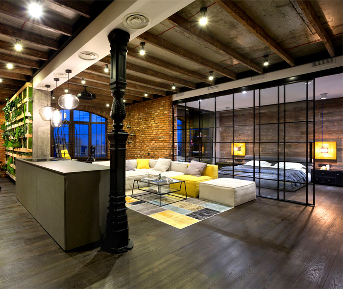 Rnovation Et Amnagement Dun Loft Kiev En Ukraine