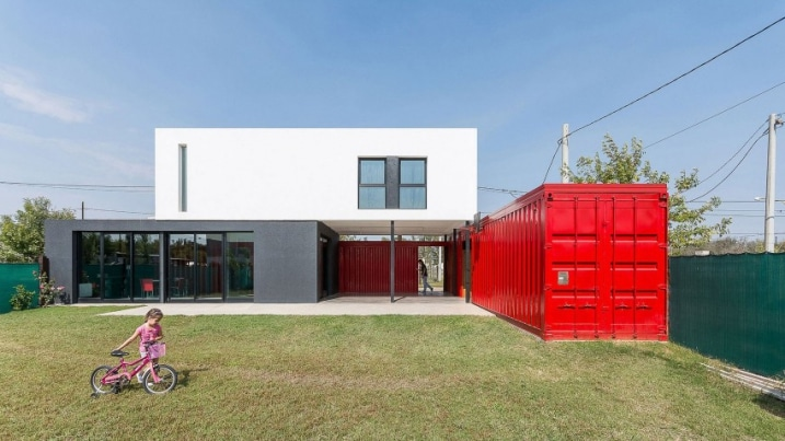 Maison Architecte Containers