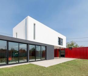 Maison contemporaine container