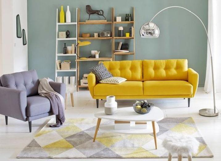 Sofa Jaune design