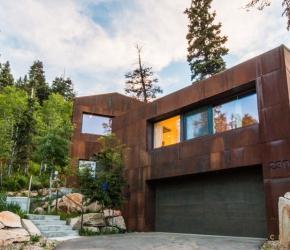 Maison en acier