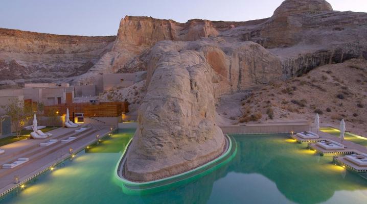 Amangiri resort h tel de luxe situ dans le d sert de l 39 utah for Design hotel utah
