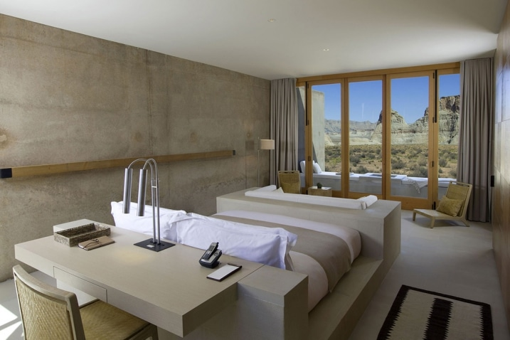 Chambre Hotel Amangiri Resort