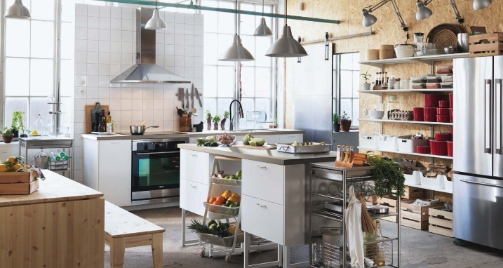 Cuisine industrielle ikea 2016 for Cuisine design 2016