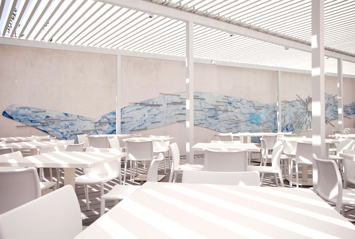 Restaurant Blue Bay Hotel Ios