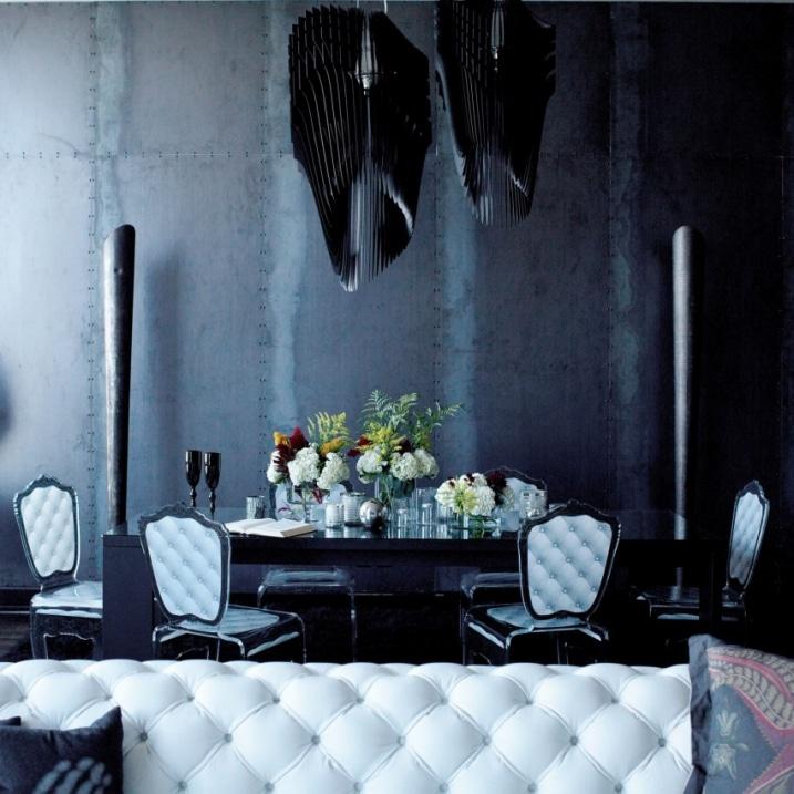 Salle manger gothique glam for Salle a manger design 2015