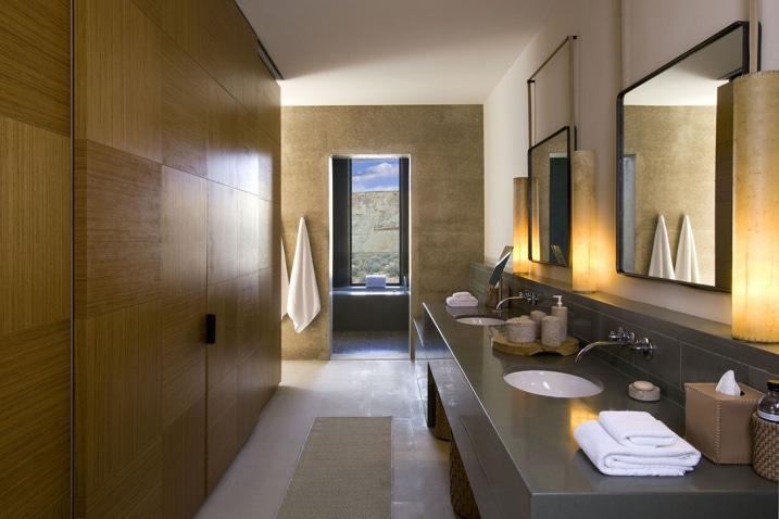 Salle de bain Amangiri Resort