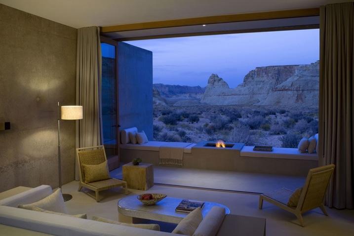 Suite luxe Amangiri Resort