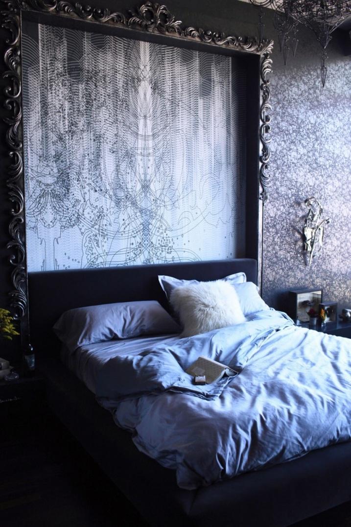 Tête de lit gothique