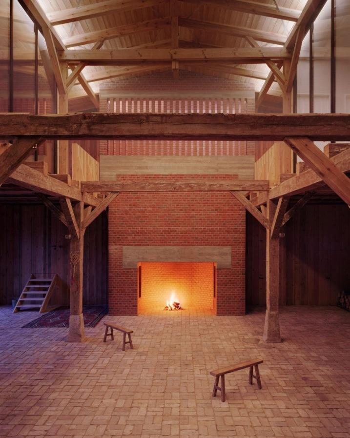 Ancienne grange r nov e for Architecture ancienne