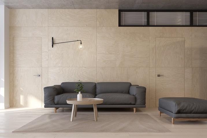 Appartement avec une atmosph re zen et minimaliste for Appartement design 2015