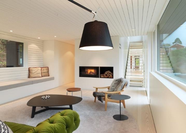 chemin e avec rangement bois. Black Bedroom Furniture Sets. Home Design Ideas