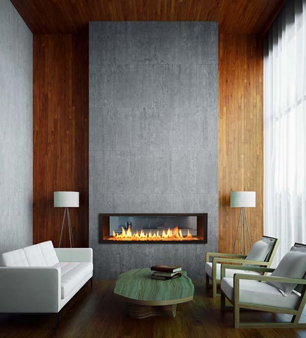 Foyer Minimalist Wallpaper : Idées pour créer une cheminée au design minimaliste