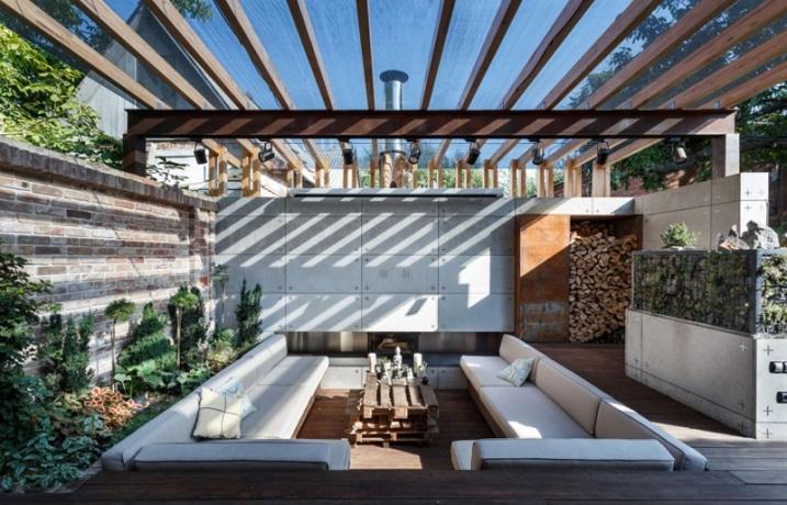 Décoration lounge extérieur