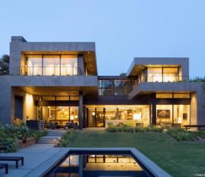 Maison béton architecte