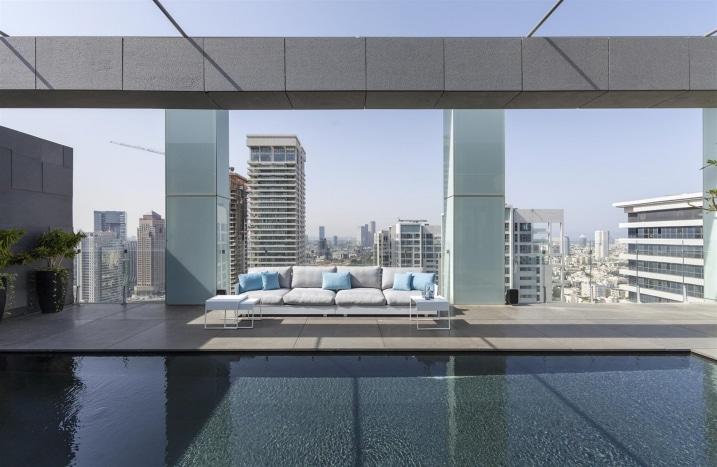Piscine toit terrasse