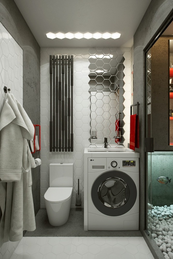 Comment amenager un studio de 18m2 astuces conseils for Comment amenager une petite salle de bain et wc