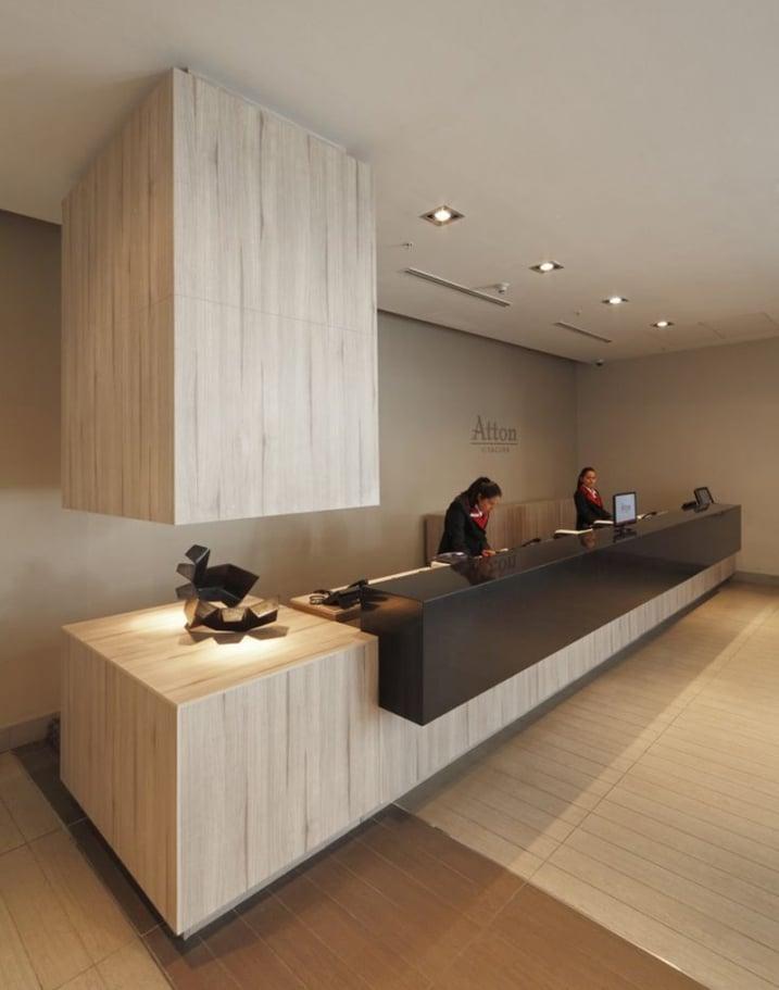 Les Plus Belles Banques Daccueil Design Bureaux Reception