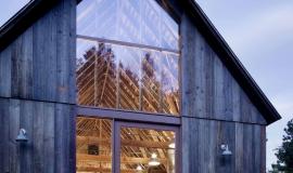 Grande fenêtre grange