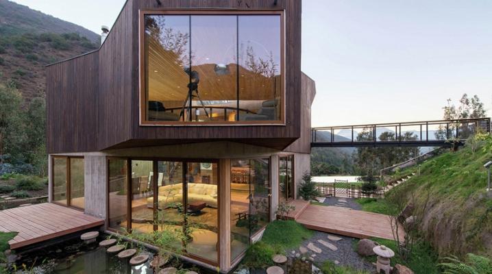 maison contemporaine avec bassin et piscine cologique. Black Bedroom Furniture Sets. Home Design Ideas