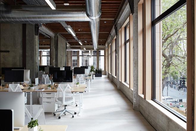 d couvrez les bureaux et l 39 open space design de vsco. Black Bedroom Furniture Sets. Home Design Ideas