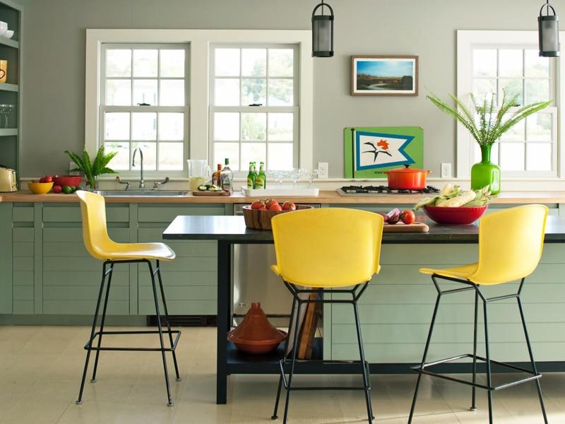 25 Cuisines modernes jaunes - Idées, Exemples, Inspirations
