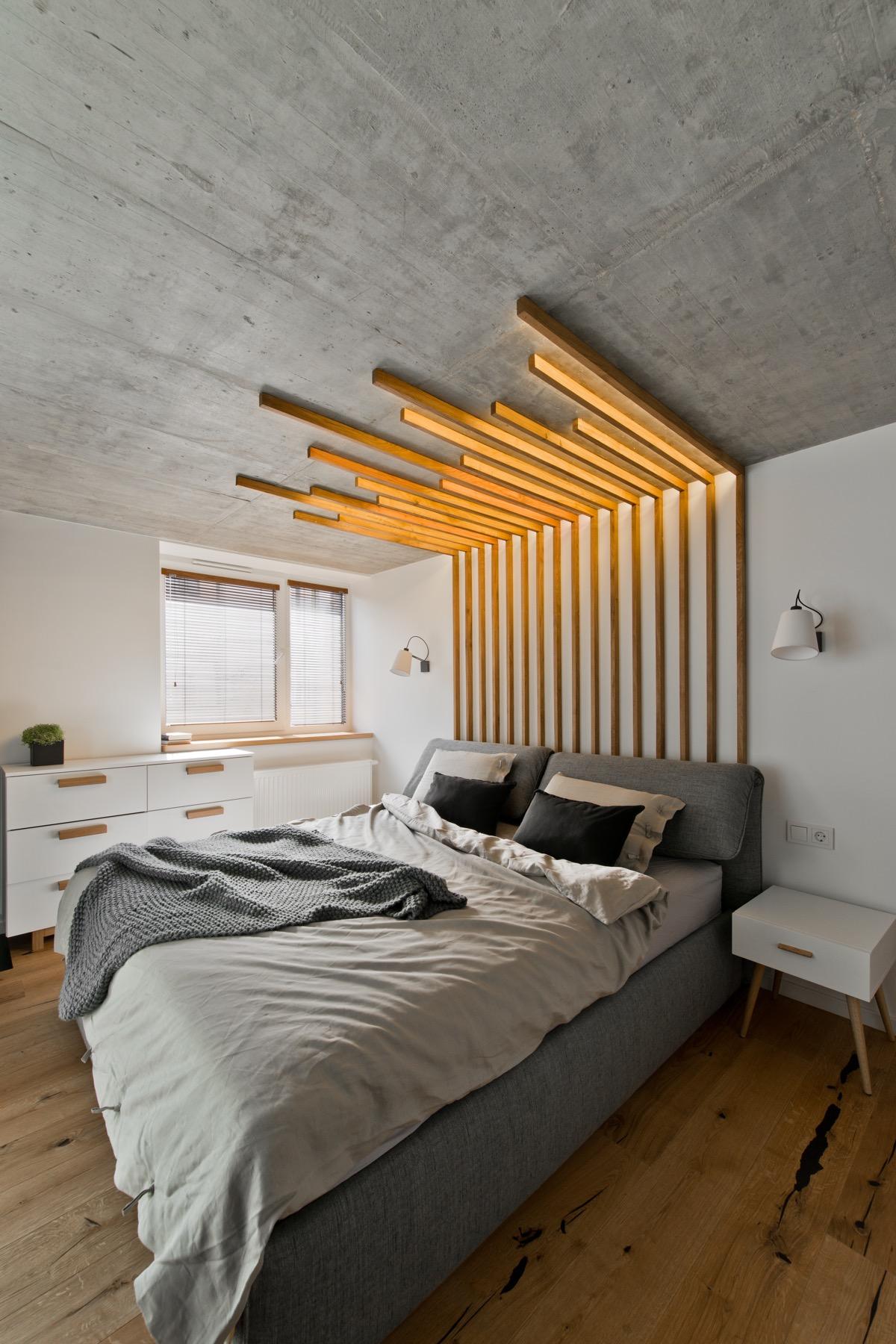 d coration d 39 un loft avec un style scandinave chic. Black Bedroom Furniture Sets. Home Design Ideas