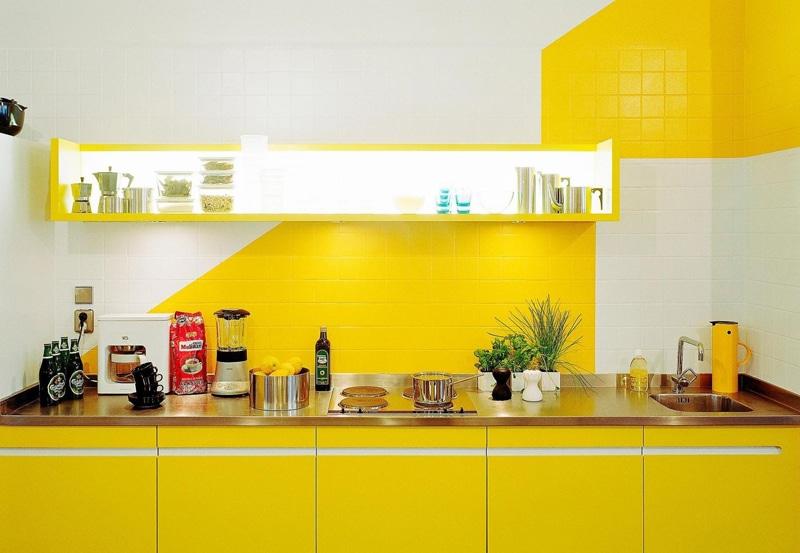 Cuisine jaune citron