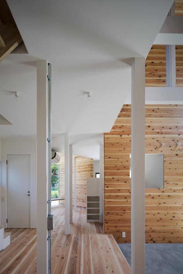 Exemple d'intérieur parquet bois