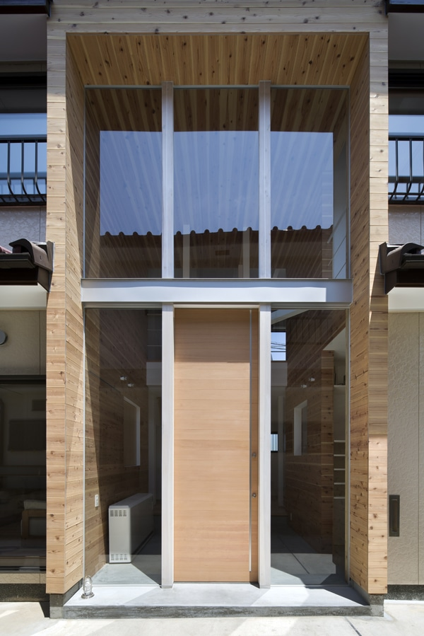 Extension avec grandes fenêtres