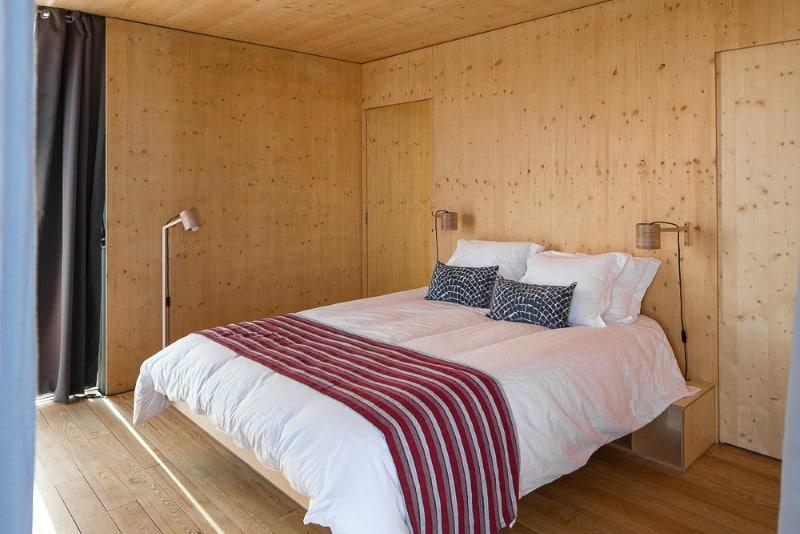 Intérieur bois pin maison
