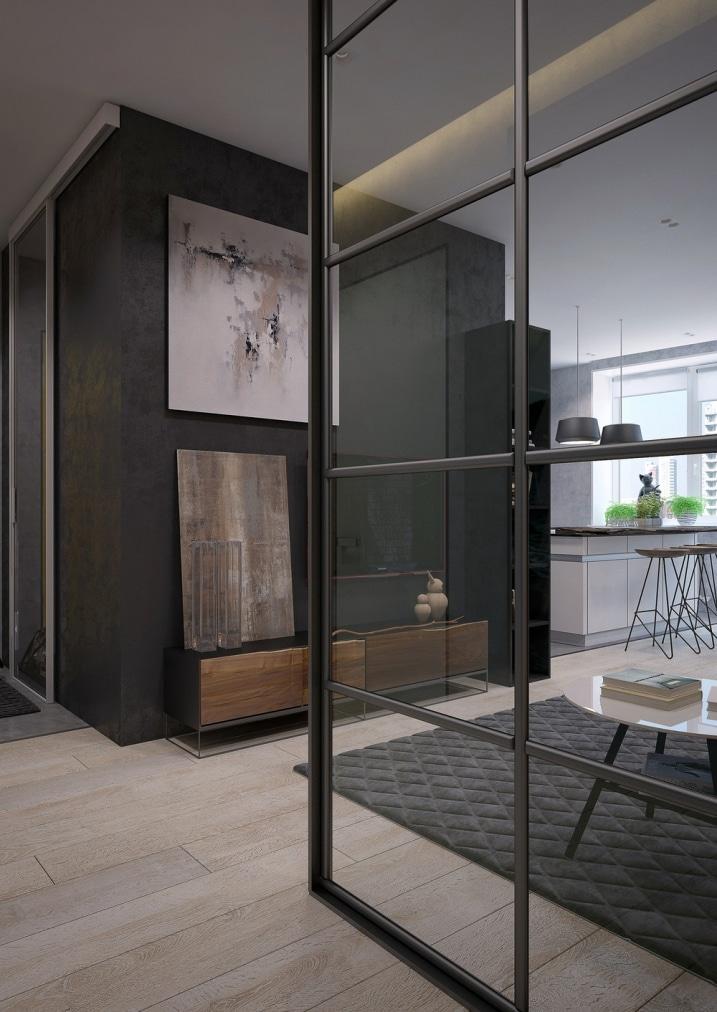 D corer un appartement avec murs de verre int rieur for Decorer un appartement