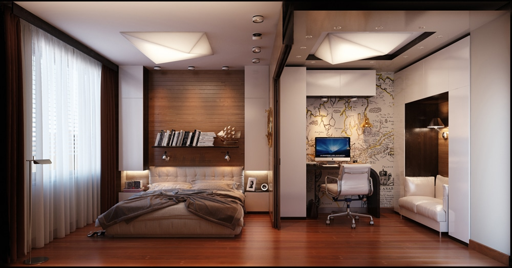 id es pour d corer une chambre coucher masculine. Black Bedroom Furniture Sets. Home Design Ideas