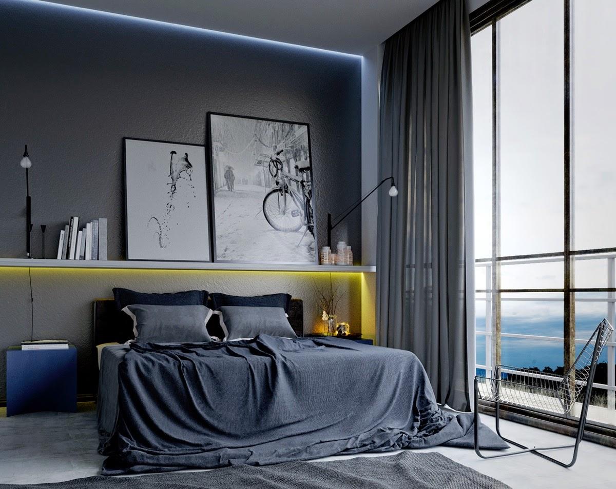 Idées pour décorer une chambre à coucher masculine