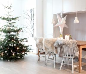 50 Idées De Décorations De Noël Avec Un Style Scandinave