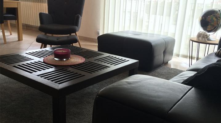 interieur contemporain fauteuil gris