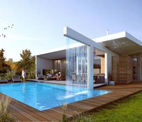 Les plus belles maisons design avec piscine for Jardin de maison design