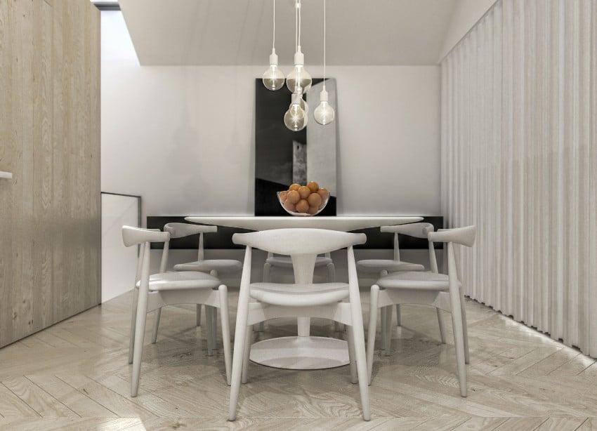 Table de cuisine ronde blanche - Tables de cuisine rondes ...