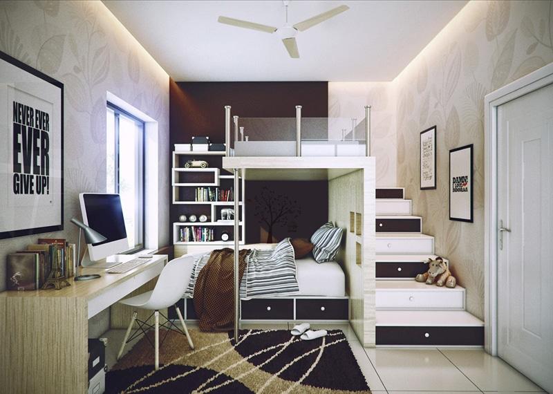 35 id es pour d corer une chambre d 39 enfant moderne design. Black Bedroom Furniture Sets. Home Design Ideas