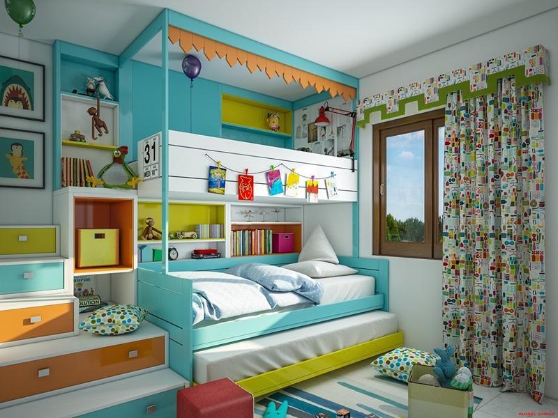 35 idées pour décorer une chambre d\'enfant moderne design