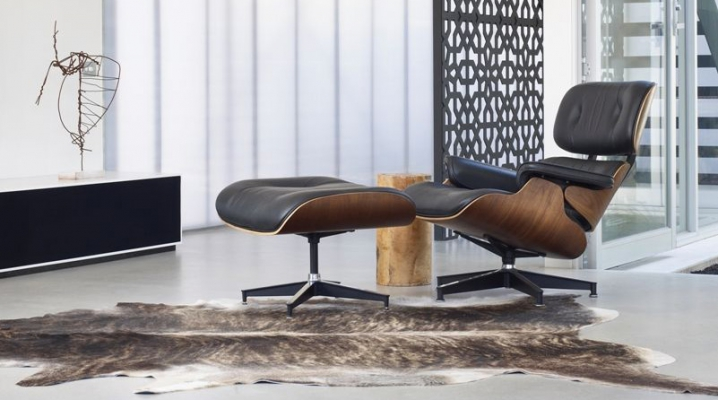 d corer son salon avec un fauteuil lounge eames. Black Bedroom Furniture Sets. Home Design Ideas