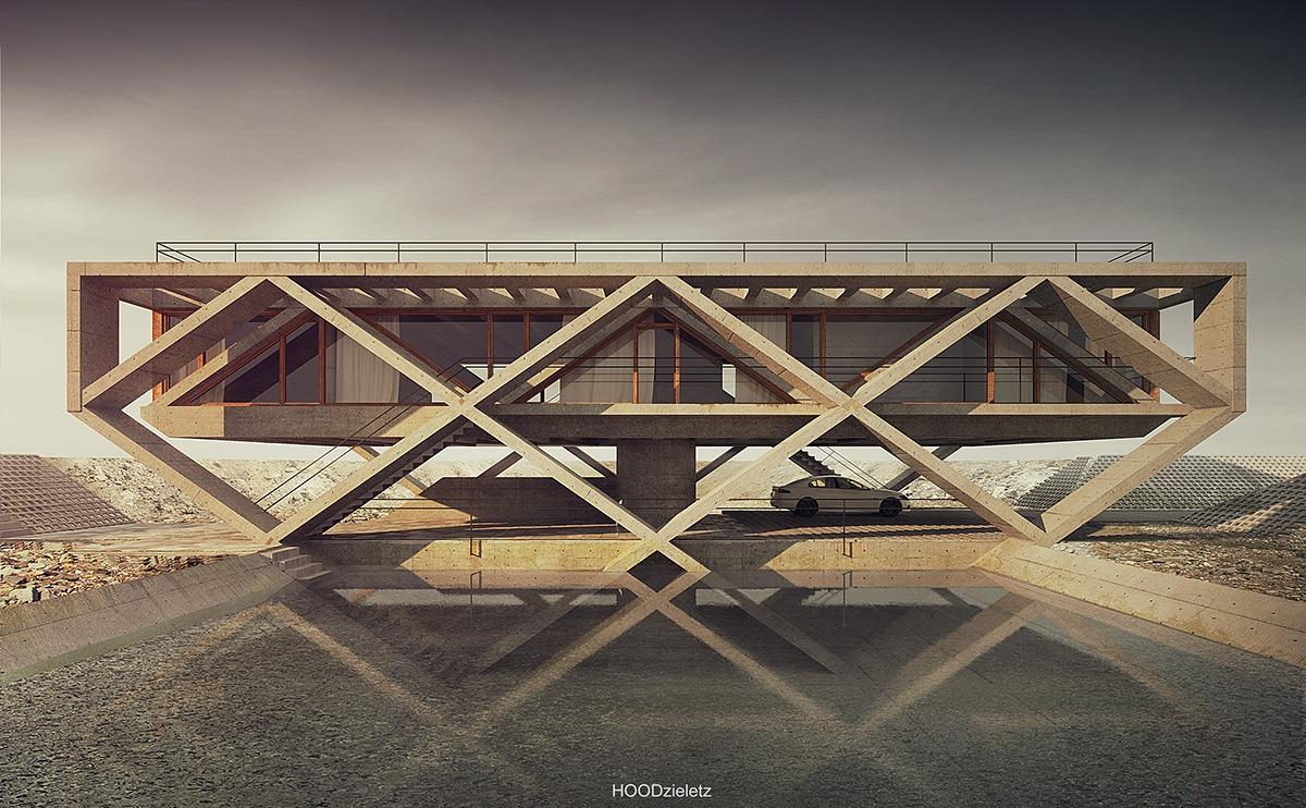 26 maisons extraordinaires qui se fondent dans le paysage for Architecture qui se fond dans le paysage