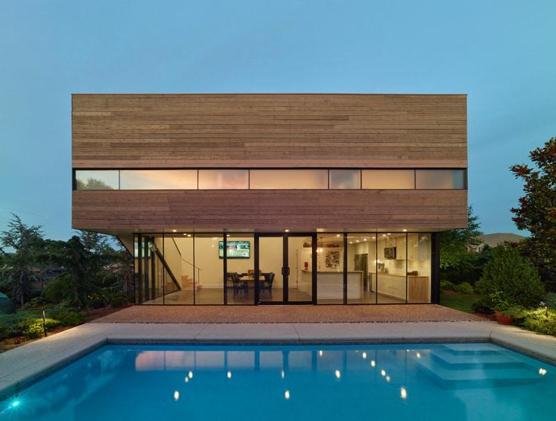 Maison architecte avec piscine