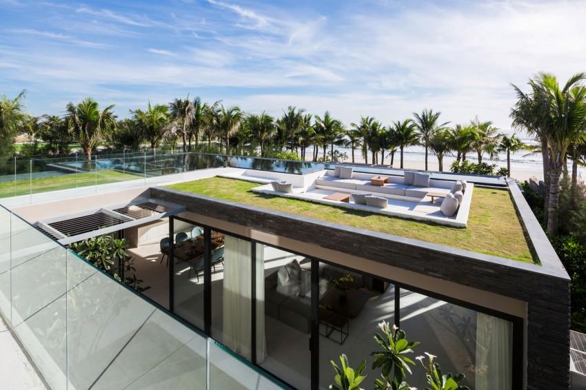 Rooftop avec piscine